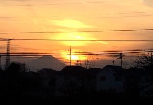 2018初富士山